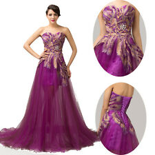 Cyber Monday~ SEXY Retro Long Formal Prom Bridesmaid Party Gown Evening Dresses