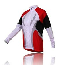 Women Winter Bike Bicycle Cycling Jersey Top Long Sleeve Velvet Thermal S-3XL