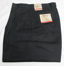 Brand New Black Pleated Front Slacks Pants Easy Care *Choose Your Size*