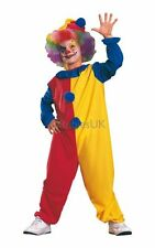 SALE! Kids Funny Circus Clown Girls / Boys Fancy Dress Costume Party Outfit