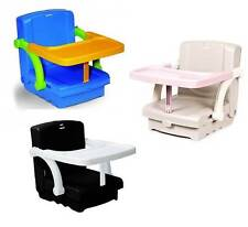 Hi-Seat Baby Child Toddler Portable Travel Booster Seat Feeding High Chair New