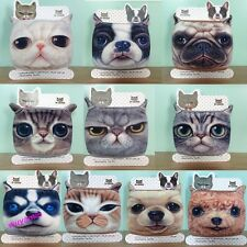 Cute Cat Dog Face Cycling Anti-Dust Cotton Face Mouth Mask Respirator Unisex Hot