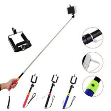 Extendable Self Portrait Handheld Stick Monopod for iPhone Samsung Lovely