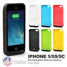 4200mAh External Power Bank Charger Pack Backup Battery Case for iPhone 5 5C 5S