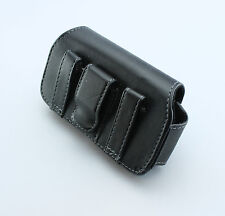 Leather Pouch Clip Pouch Holster (Fits with Hard / Silicone / Hybrid Case)