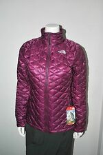 The North Face Women's ThermoBall PrimaLoft Full Zip Up Parlour Purp NEW Sz XS-L