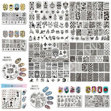 Nail Art Image Stamp Stamping Template BORN PRETTY DIY Manicure BP #L001-L020