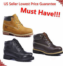 "FREE SOCKS GIVEAWAY New Kingshow Men's 6"" Premium Waterproof Work Boots 7011"