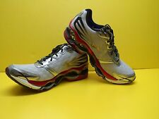 1Mizuno Wave Prophecy 2 Running Shoes (M) Silver/Red 8KN-31650 NEW