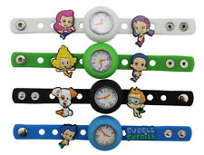 Kids DIY Watch + 9 Bubble Guppies Charms birthday Gifts