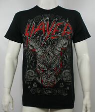 Authentic SLAYER Band Demon Head Not Of This God T-Shirt S - 2XL NEW