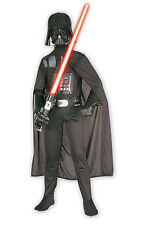 Child Star Wars Darth Vader Licensed Fancy Dress Costume Kids Boys BN