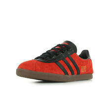 Chaussures baskets Adidas Homme Trimm Star taille Rouge Cuir Lacets