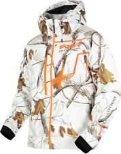 FXR Vertical Pro RealTree Softshell Hoody Jacket  APHD White Snow Camo