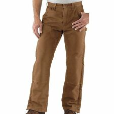 Carhartt Mens Double Front Insulated Pants B194 lined work trousers NEW