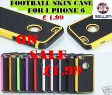 Armor Football Skin Patterned CASE For iphone 6 free HD film+Pen
