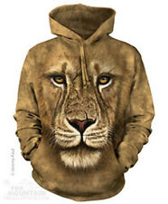Lion Warrior Hoodie Sweatshirts Adult Sizes by The Mountain