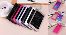 Luxury touch View Window Flip Leather Case Cover for Samsung Galaxy S5 Note4/3/2
