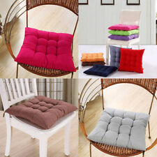 New Dining Garden Chair Seat Pad Upholstery Foam Tie Replacement Cushions
