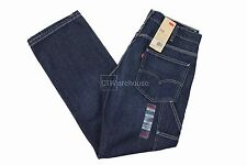 Levis 569 Dark Wash 137720003 - Loose Straight Fit Carpenter Jeans Blue $58