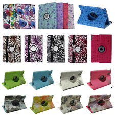 For iPad mini iPad 2 3 4 5 Air 2 360 Rotating PU Leather Smart Stand Case Cover
