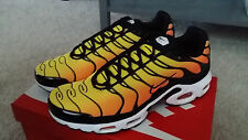 Nike Air Max Plus TN Tuned 1 Tiger Orange Yellow Black 647315 700 Running Shoes
