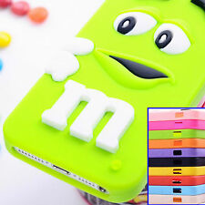 Children Gift 3D Cute Cartoon Silicone Back Case Cover for Apple iPhone 5 5S