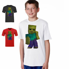 STAMPY ZOMBIE youtube gamer nerd  KIDS t shirt