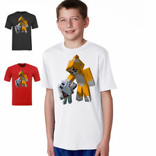 STAMPY & barnaby  youtube gamer nerd  KIDS t shirt