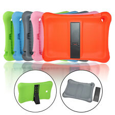 Kids ShockProof Soft Silicone Stand Case Cover For Apple iPad Air 2 2nd Gen
