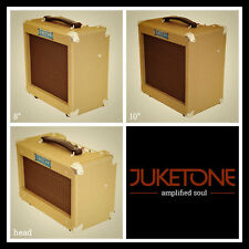Juketone Boutique Hand Wired Valve Vintage Style Tweed Guitar Amplifier Tube Amp