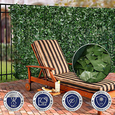 "58.5"" Tall ArtificialFaux Ivy Leaf Privacy Fence Screen Décor Panels Windscreen"