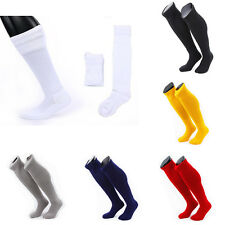 Winter Thicken High Pure Color Over Knee Long Socks Tube Soccer Pro Football