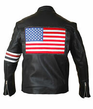Easy Rider Jacket with US Flag on the Back - BNWT