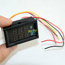 Super Digital LCD DC volt&amp Combine 2 in 1 Panel Meter Ammeter Voltmeter 300V