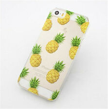 New arrival Novelty Pineapple Clear Back Phone Case Cover For iPhone 5/5S 5C 6