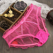 1pc Hot Sexy Womens See-through Panties Briefs Knickers Underwear Lingerie New