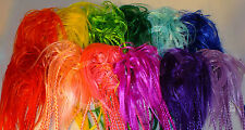 "Scrunchie Braided Deluxe 14"" Braids Synthethic Hair YOUR CHOICE FUN COLORS"