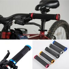 Colorful Cycling Handlebar Lock-on Handle Grips For Mountain Bike Bicycle New