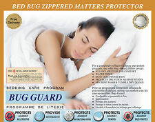 Bed bug saver mattress cover Zippred Anti allergy ,Anti dust mite ,Pet dander