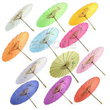 For Wedding Dance Party Chinese Japanese Umbrella Art Deco Painted Parasol Hot