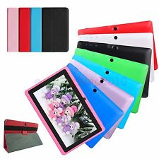 "7"" Android 4.4 KitKat Quad Core A33 Tablet PC 512M 16GB WIFI 3G For Kids W/ Case"