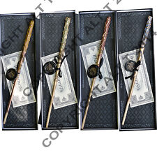 House Base Magic wand in luxury Wand box with Hogwarts seal and Sorting hat card