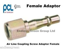 PCL Air Line Coupling Screw Adaptor FEMALE -  standard compressor fitting  55060