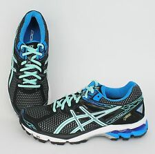 ASICS Women's GT-1000 3 G-TX Black, Ice Blue - T4L7N-9043 SALE Running Gore-Tex