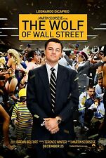 THE WOLF OF WALL STREET POSTER - A1, A2, A3, A4 SIZES