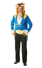 "FANCY DRESS COSTUME ~ MENS DISNEY BEAUTY AND THE BEAST ADULT ""BEAST"" 38"" - 46"""
