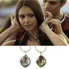 The Vampire Diaries Elena's Vervain Antique Locket Vintage Necklace New FHRG