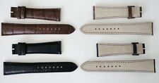 ZENITH  GENUINE  NEW  WATCH   BANDS  18mm & 20mm  BLACK or BROWN