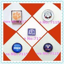 Floating Charms-College Football Basketball-for Glass Living Memory Lockets